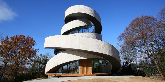Hiroshi Nakamura's Double Helix Chapel | Spoon  Tamago