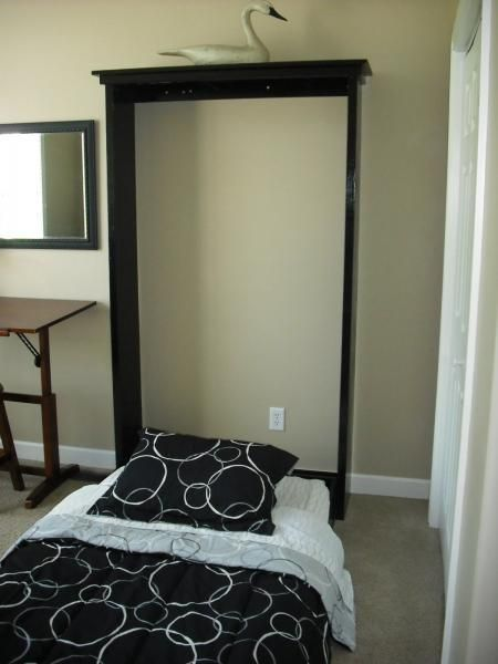 plans a murphy bed you can build and afford to build the homestead - Fold Down Bed