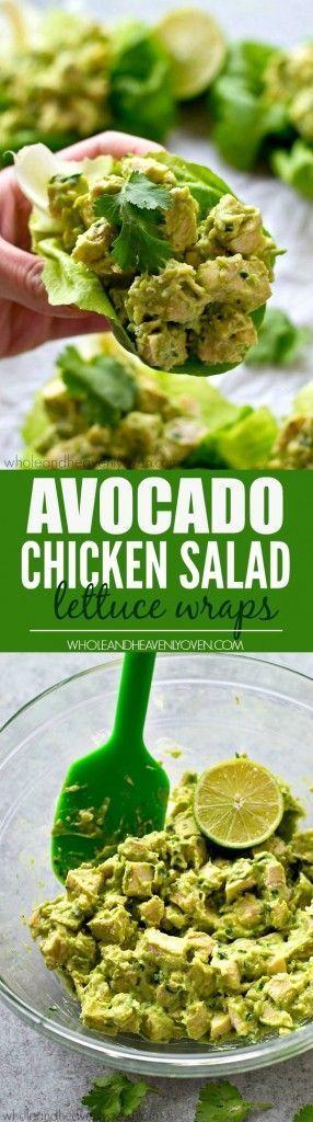 Programme du régime : Des salades de poulet à la salade allégée avec de l&#3…