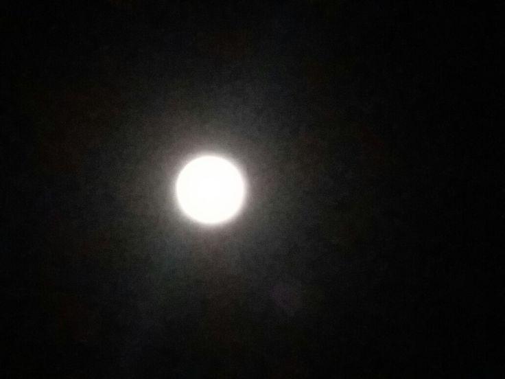 Mesmerizing full moon