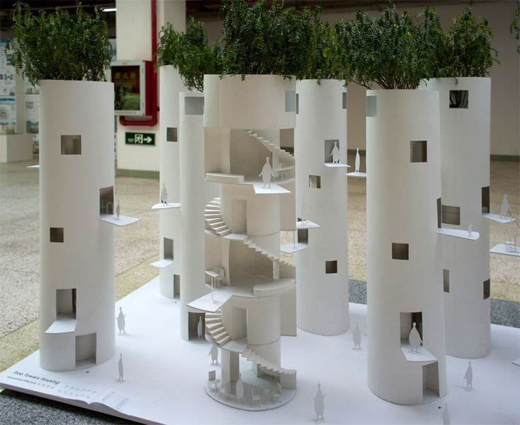 'tree towers housing' by standardarchitecture, shenzhen, china