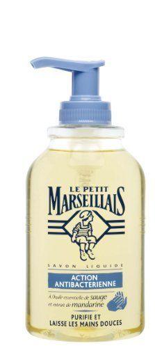Le Petit Marseillais – Savon Liquide Antibactérien – Pompe 300 ml – Lot de 2: Ce véritable savon liquide à l'huile essentielle de sauge et…