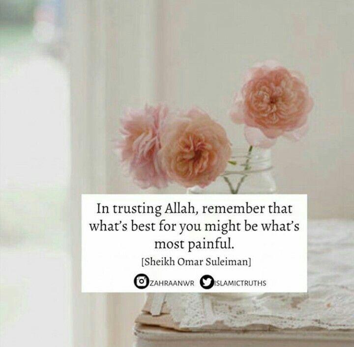 Trust Allah.دائماً و ابداً