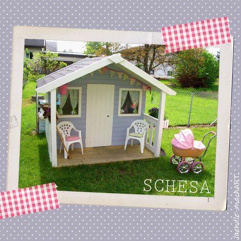 17 Best Ideas About Gartenhaus Kinderspielhaus On Pinterest ... Hubsches Gartenhaus Aus Holz Selber Bauen