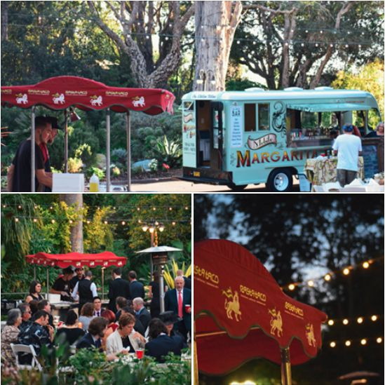 Rasta Taco Catering + Rasta Rita Margarita Truck team up to provide an epically fun and tasty wedding party.  #Taco #Catering #margarita #wedding #party #RastaTaco #RastaRita #weddingcatering #LAWedding