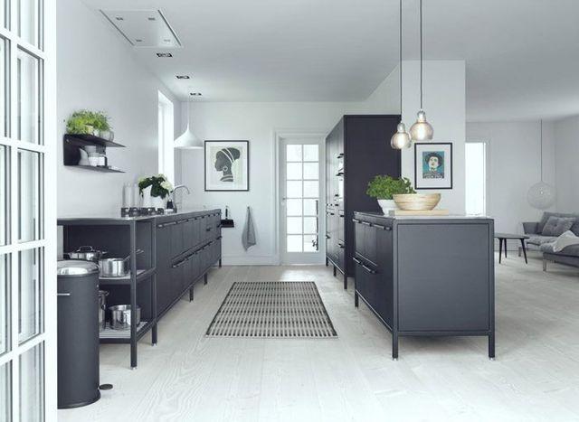 68 besten Küche Bilder auf Pinterest Wohnzimmer, Alter und Bilder - moderne kuche in minimalistischem stil funktionalitat und eleganz in einem