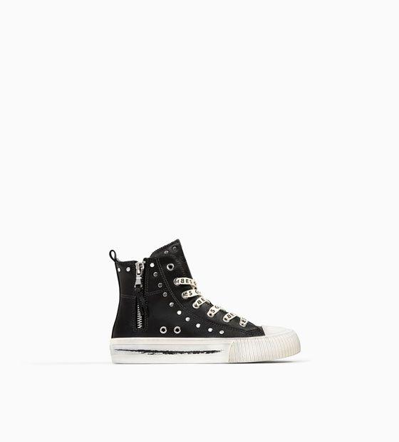 Dolce & Gabbana Adolescent Enfants Arc Baskets Détail - Noir OQsjY4XLe