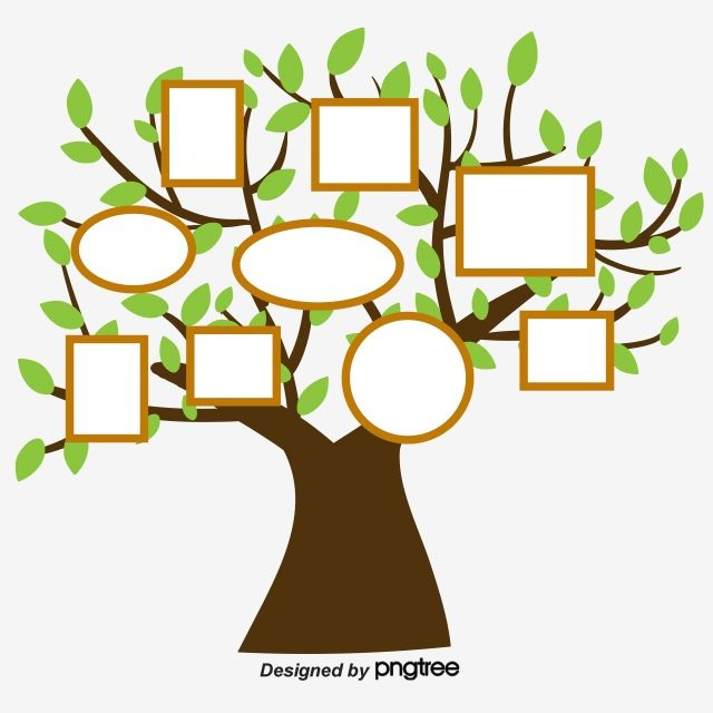 Simple Hand Painted Creative Family Tree Arbol De Familia Arbol Genealogico Para Ninos Creatividad