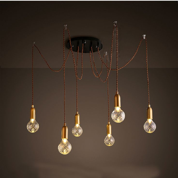 454 best ceiling lights fans images on pinterest ceiling lamps modern pendant light spider pendant lamp multiple adjustable pendant lights classic decorative fixture lighting included bulbs aloadofball Choice Image