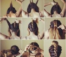 Terrific 1000 Images About Heatless Hairstyles Lt3 On Pinterest Easy Updo Hairstyles For Women Draintrainus