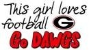 """Go Georgia Bulldogs! G-E-O-R-G-I-A! Georgia! Bulldogs! Go Dawgs! Sic 'em! Woof, woof, woof!"""