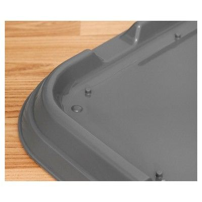 Iris Puppy Training Pad Tray - Gray