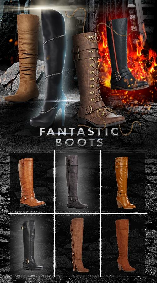 These Boots Are FANTASTIC! Limited Time Only get 2 Pairs for $39.95 Shipped. Can't Decide Which Fantastic Boot Style is Best for You? Find Out by taking Our Shoe Style Quiz and Take Advantage of This Limited Time Offer!