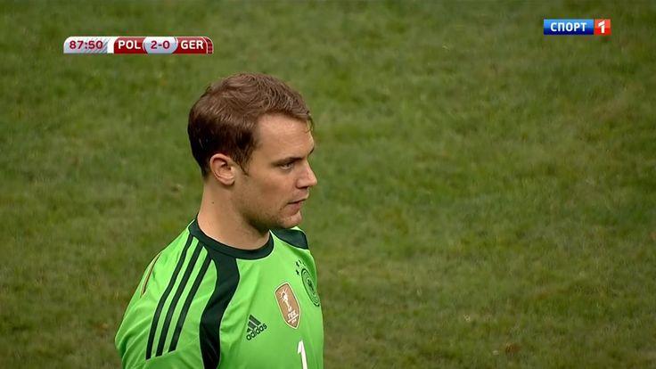 Manuel Neuer Vs Poland (A) Euro 2016 Qualification HD 720p
