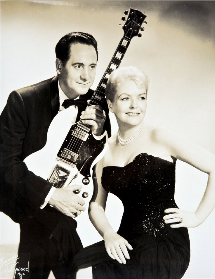 Les Paul and Mary Ford Vaya Con Dios - Johnny Is The Boy For Me