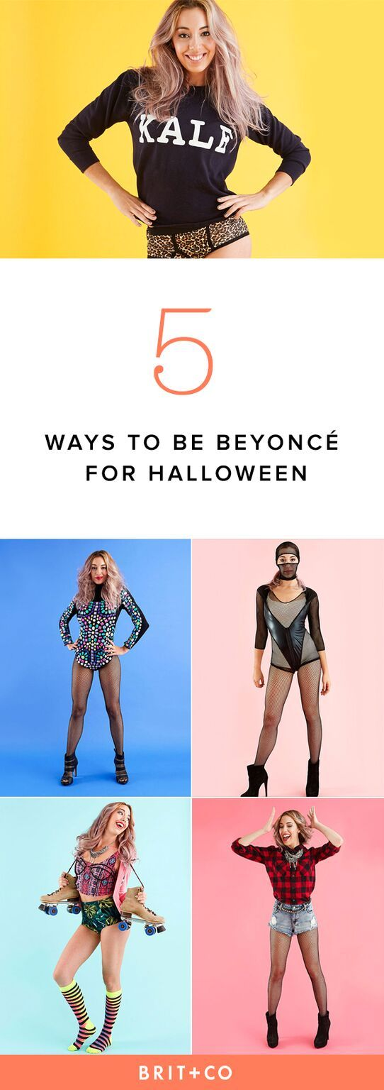 How to create 5 different iconic Beyoncé costumes to let your Sasha Fierce shine this Halloween.