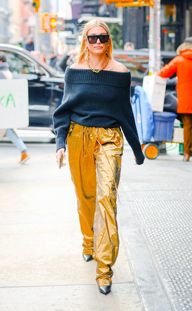 bc0cc759bb6d Hailey Baldwin from Best Celeb Street Style From NYFW Winter 2018 ...