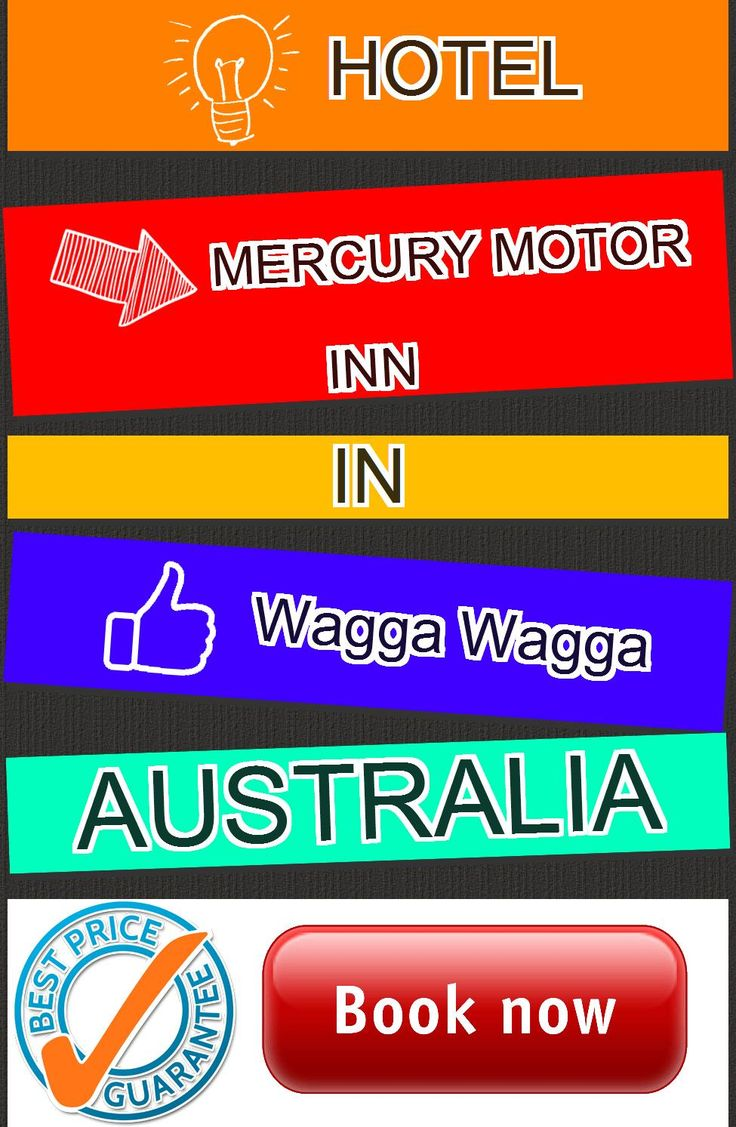 Hotel Mercury Motor Inn in Wagga Wagga, Australia. For more information, photos, reviews and best prices please follow the link. #Australia #WaggaWagga #travel #vacation #hotel