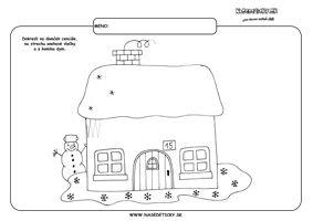 Cencúle - grafomotorika - pracovné listy pre deti