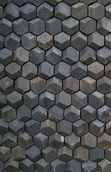 Handmade tiles . by ceramic design studios #honeycomb