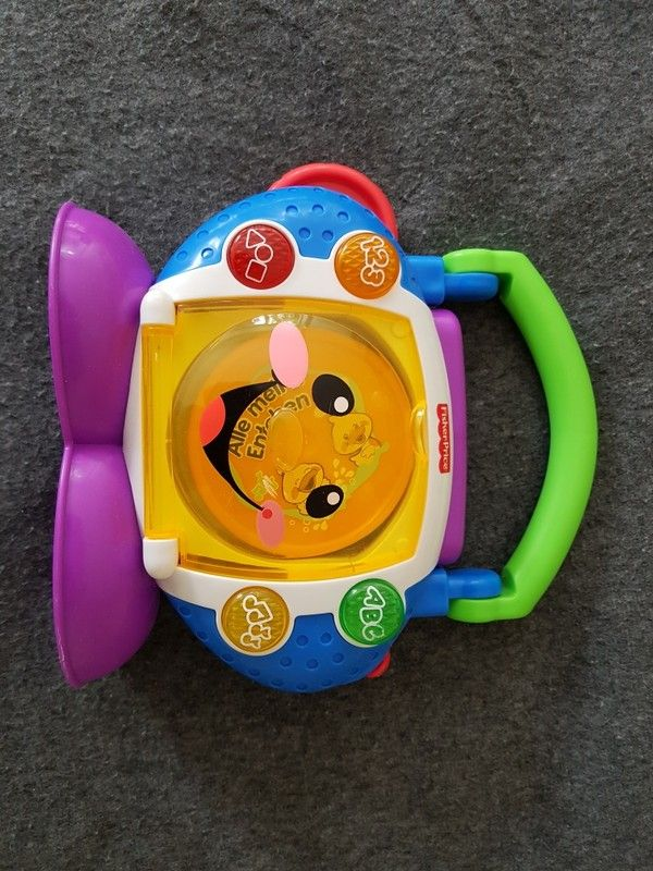CD -Player von Fisher - Price u.a. Häschen in der Grube, ABC