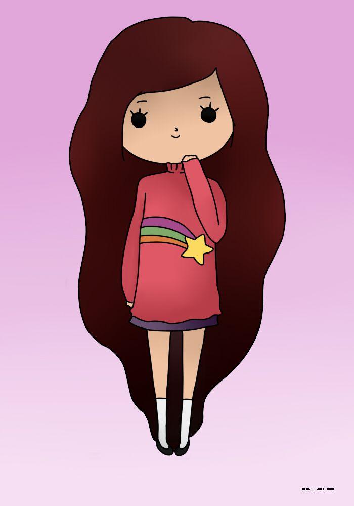 Chibi Mabel Pines (Gravity Falls) by AmazingKim-Chan on DeviantArt