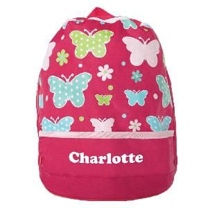 This colourful bag is a great all rounder for swimming, the beach, sleepovers and school.  FEATURES * Draw strap closes securely to keep everything inside * Straps are nice and thick * Doubles as a backpack! * Zip pocket to keep valuables safe * Separate pocket for shoes - keeps them dry * Fits a large beach towel, clothes and shoes * Dimensions: 38cm H x 28cm Diameter * Personalisation max 12 characters * Heat pressed in Australia