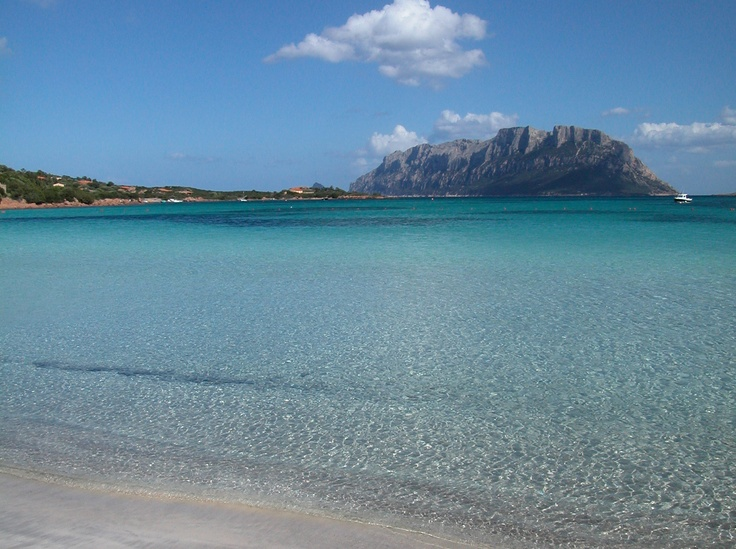 Isola Tavolara, near Olibia in Sardinia, this Island has its own King and Queen who run a small Restaurant in the Summer