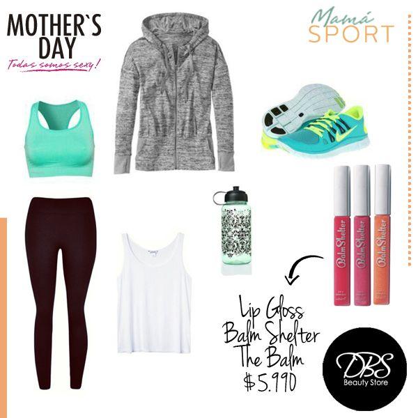 Una mamá sport luce alegre y vital pero sabe perfectamente cómo verse bella. Por eso los lip gloss Balm Shelter de The Balm son un regalo perfecto para ella. Encuéntralos a $5.990 c/u en nuestras tiendas DBS Beauty Store!
