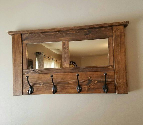 Coat Rack Wall Coat Rack Mirrored Coat Rack Rustic Coat Rack