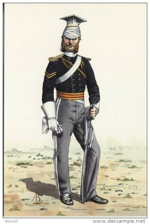Corporal, 17th Light Dragoons (Lancers), Varna 1854 - The 17th was part of a combined British and French expedition assembled to support the Ottoman Empire in its war with Russia. The intention of the expedition was to invade the Crimea and capture the naval base of Sevastopol. During the Siege the 17th Lancers took part in the Battle of Balaklava on 25th October in a cavalry charge that became known as the Charge of the Light Brigade.