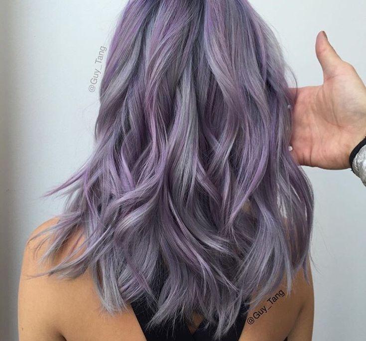 @guy_tang lavender and grey hair