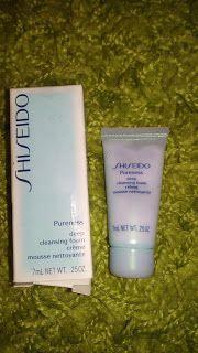 Alles rund um Kosmetik: Shiseido pureness Deep Cleansing Foam