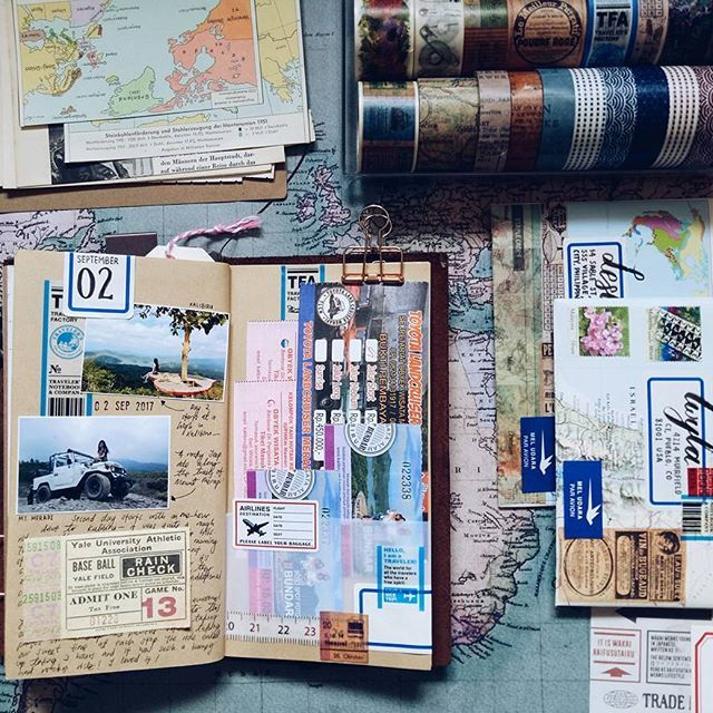 I have this habit, of hoarding ticket stubs, namecards, boarding passes, every bit of paper pieces. And these tangible bits of my memories, I keep eternalized in my journal - for later remembrance, for a funny story to tell one day, for a smile on a rainy day. ⠀⠀⠀⠀⠀ ⠀⠀⠀⠀⠀⠀ ⠀ ⠀⠀⠀ ⠀⠀⠀⠀⠀ ⠀ ⠀ ⠀⠀⠀⠀⠀⠀⠀⠀⠀⠀⠀ ⠀ ⠀⠀⠀⠀⠀ ⠀ ⠀⠀⠀⠀⠀⠀⠀⠀⠀ ⠀⠀⠀⠀⠀ ⠀ ⠀⠀⠀⠀⠀ ⠀⠀⠀⠀⠀ ⠀⠀⠀⠀⠀ ⠀ ⠀⠀⠀⠀⠀ ⠀⠀⠀⠀⠀⠀ ⠀ ⠀⠀⠀ ⠀⠀⠀⠀⠀ ⠀ ⠀ ⠀⠀⠀⠀⠀⠀⠀⠀⠀⠀⠀ ⠀ ⠀⠀⠀⠀⠀ ⠀ ⠀⠀⠀⠀⠀ ⠀ ⠀ ⠀ ⠀ ⠀⠀⠀⠀⠀ ⠀ ⠀⠀ ⠀ ⠀ ⠀ ⠀ ⠀⠀⠀⠀⠀ ⠀ ⠀⠀ #snailmail #planneraddict #travelersjournal…