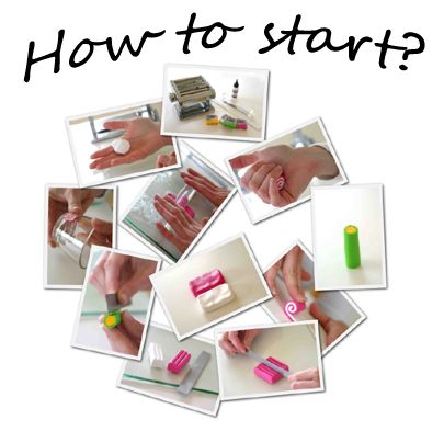 polymer clay tutorials polypediaonline how to start