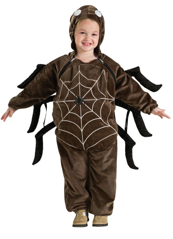 spider costume for kids | Deluxe Baby and Toddler Spider Costume - Kids Costumes