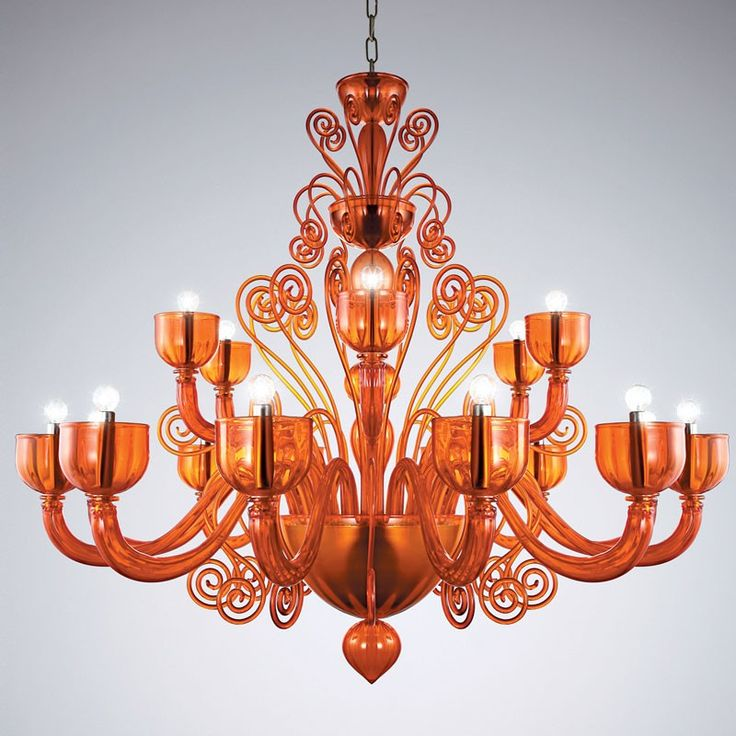 Best 25+ Orange chandeliers ideas on Pinterest Dried orange - designer leuchten la murrina