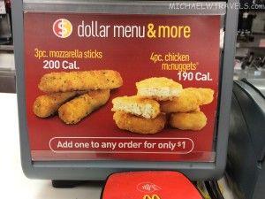 Food Review: McDonald's Mozzarella Sticks