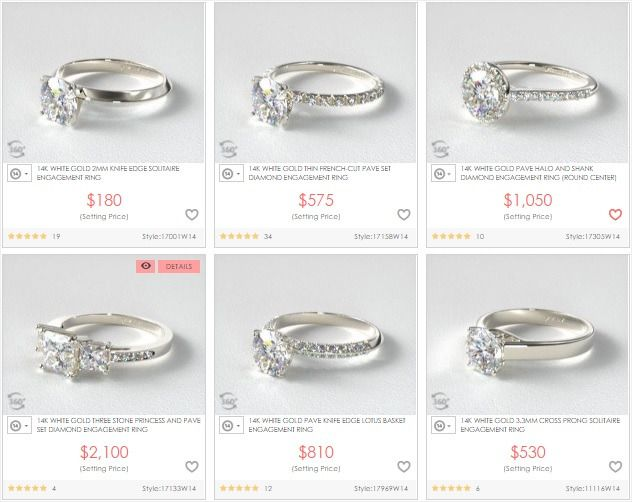 42 Regular How Much Is A 18k Hge Ring