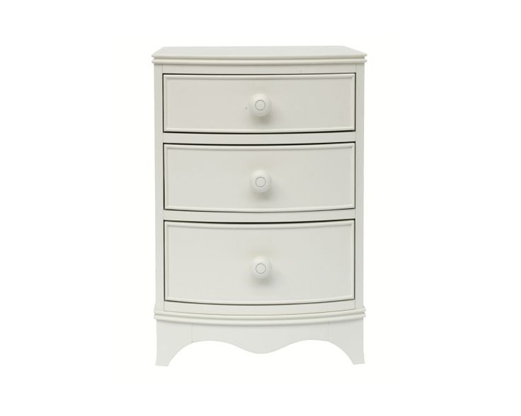 Broughton - Ivory 3 Drawer Side Table | For the Home ...