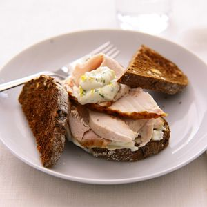 Recept - Kalkoensandwich met dragonmayonaise - Allerhande