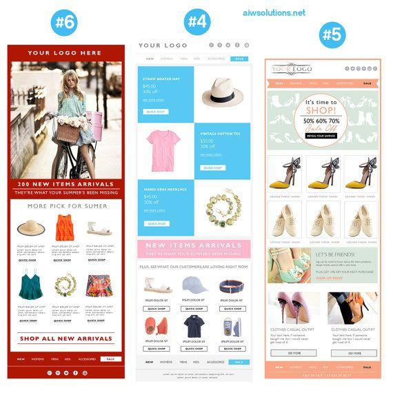 18 best BLOG  Designs I Love images on Pinterest Blog designs - marketing email template