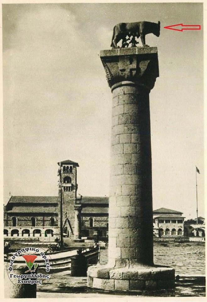 Φωτογραφία του χρήστη Γεωργαλλίδης Σταύρος η Ρόδος του Χτες.  Ρόδος Μανδράκι. Η είσοδος του Λιμανιού 1928