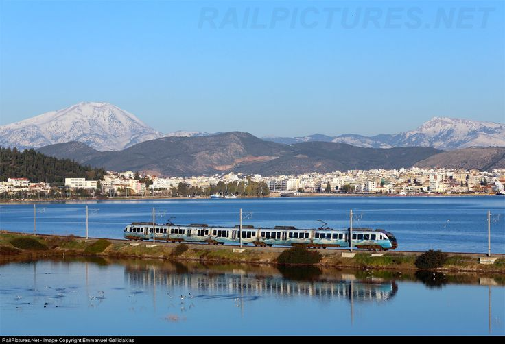 OSE Hellenic Railways Organization Siemens Desiro EMU at Chalkida, Greece by Emmanuel Gallidakias