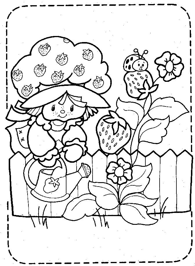 vintage+strawberry+shortcake+coloring+pages | 3996 COLORING PAGES