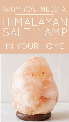 A Himalayan salt lamp is one of the best things you can have in your home. Lists all the health benefits these lamps are used for!