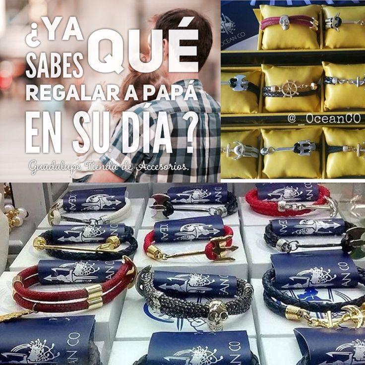 Si aún no tienes idea de que regalarle a papá  en su día .. Conoce nuestra  colección Masculina.  Distribuidor autorizado Oceanco.  Instagram:@gdlpaccesorios  Info:3002893015 /3044405429.  #papa #diadelpadre #regalo #manilla #accesorios #cali #colombia #promo #padre