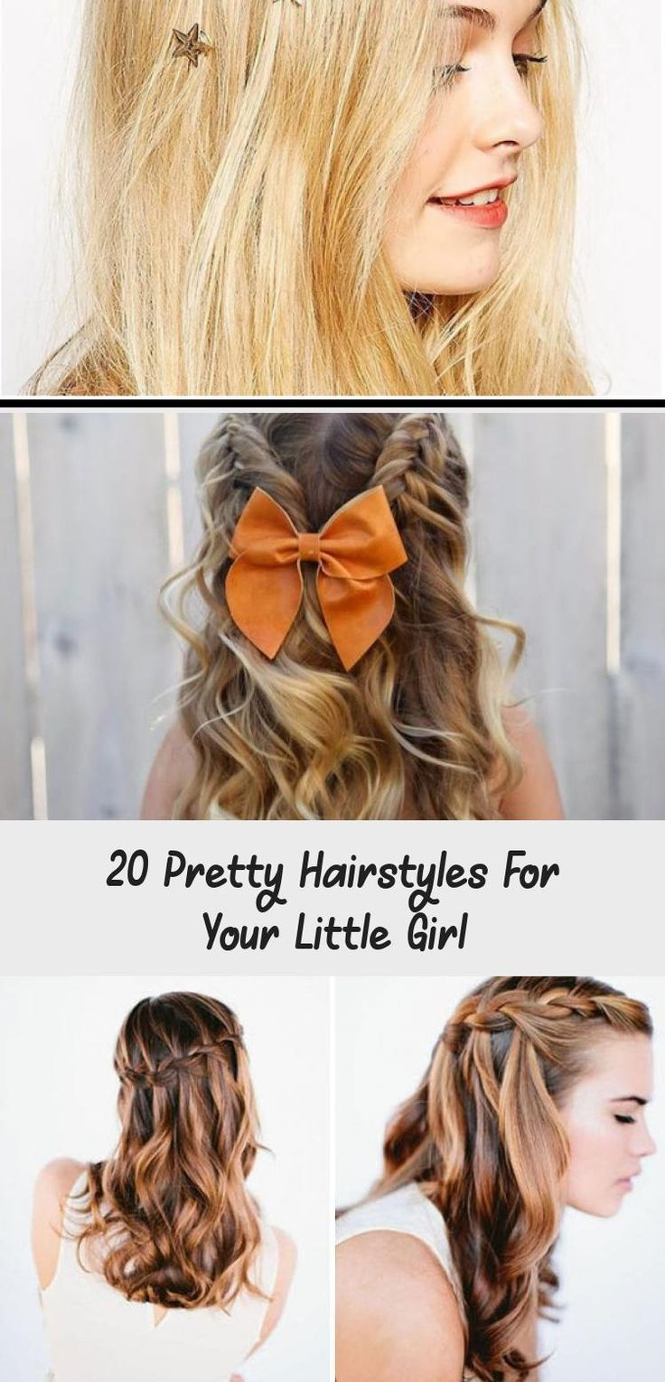 20 Pretty Hairstyles for your Little Girl Turn your little lady into a princess using one of these 20 pretty hairstyles made for little girls. Pick a favorite and try it today! #babyhairstylesForWedding #babyhairstylesBlack #Mixedbabyhairstyles #Simplebabyhairstyles #babyhairstylesPigtails