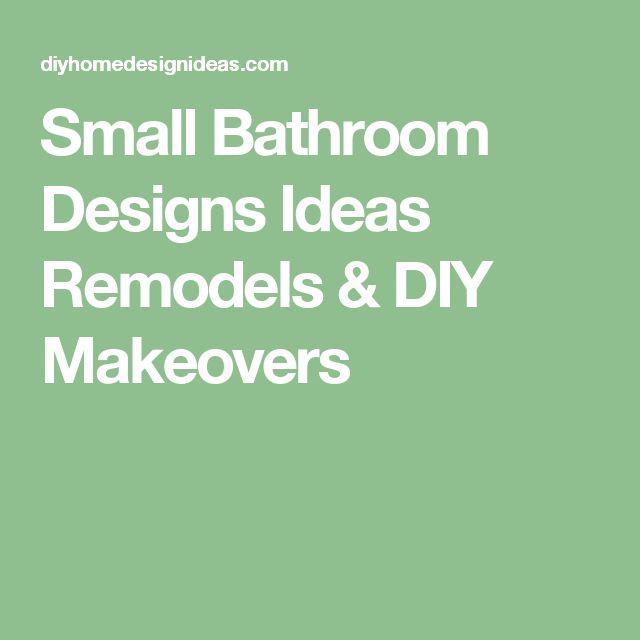Diy Home Design Ideas Com: Small Bathroom Designs Ideas Remodels & DIY Makeovers