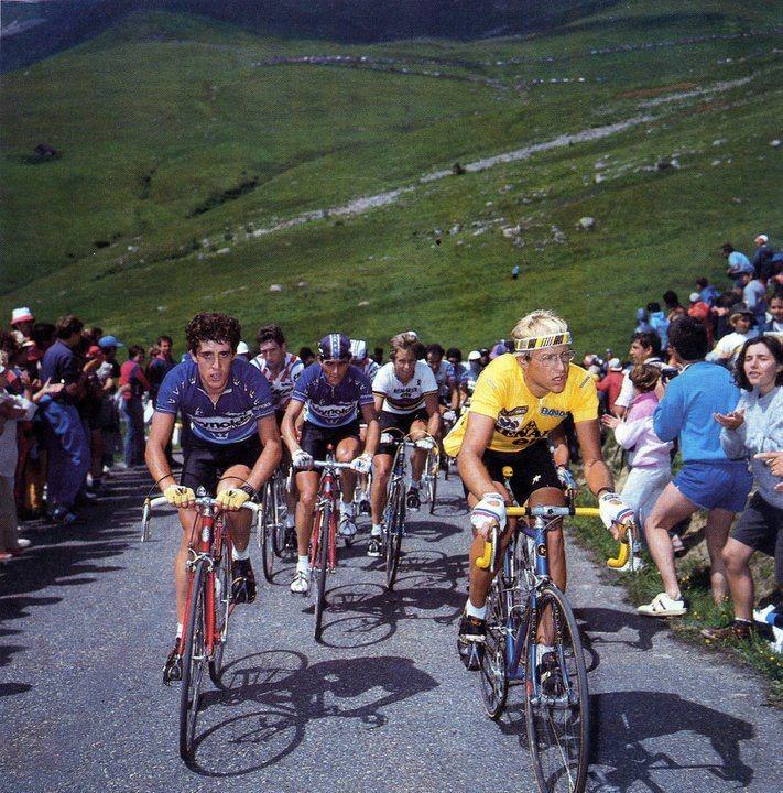 Tour de France - Delgado, Lemond and Fignon